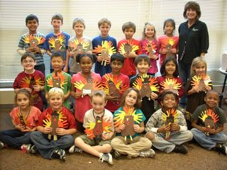 2nd grade Thanksgiving 2011