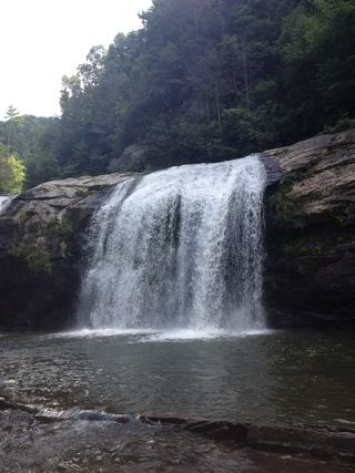 Boone waterfall