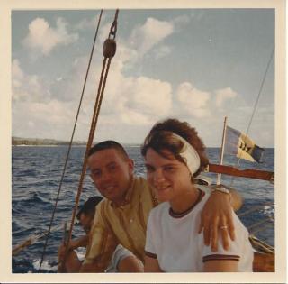 Pat and John Barbados
