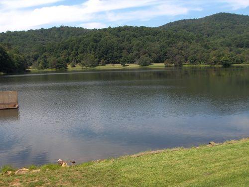 A nice fishing lake